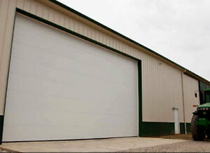 Commercial Overhead Door Installation - Farms & Small Business Strathcona County Edmonton Area image 1