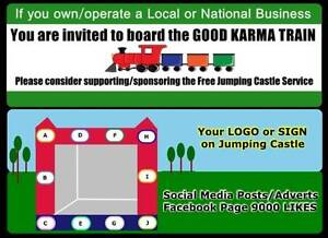 Free Jumping Castle Service - Seeks Business / Corporate Partners Lilydale Yarra Ranges Preview