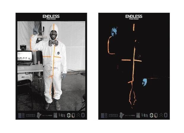 Frank Ocean-Endless Double Sided Poster