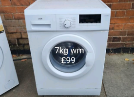 Logik 7kg washing machine free delivery in Leicester