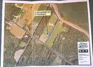 Two acre lot on Boughton Bay