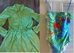 Dress and Swimming Suit, medium size, MINT condition