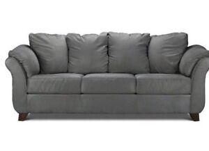 2 Almost New Dark Grey Couches