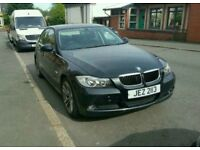BMW 318iSE 2006 Black Petrol, MOT AUG 18, FSH, Spares Repairs, Private Plate INC