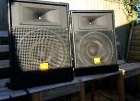 JBL MR 925 350 watt pair of speakers