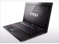 "[TRADE/SELL] MSI Gaming Laptop 17.3"" GE70 0ND / 16GB RAM/i5/GTX660m"