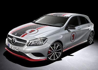 Mercedes A-Kl. W176 Bausatz Bodykit Sport-Look Front-Heckspoiler Schweller AMG