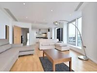 ***Stunning Luxury 2 Bedroom Apartment in Millharbour with Parking E14***