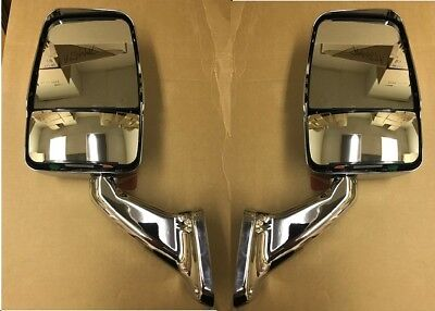 Velvac RV Motorhome Chrome Non Powered Class A RV Mirrors