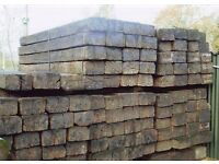 RAILWAY SLEEPER'S / TIMBER'S £17 EACH DELIVERY ALSO AVAILABLE