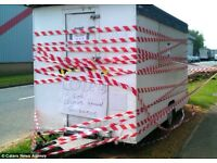 WANTED burger wagon/ catering trailer