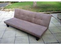 Single folding bed settee