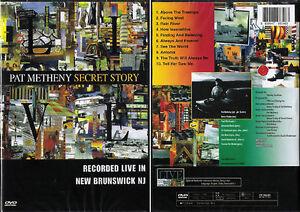 PAT METHENY Secret Story (1992) Live DVD, NEW!!