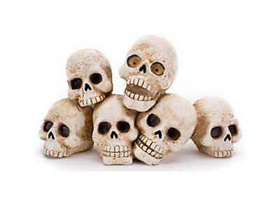 Penn Plax Zombie Skulls Aquarium Ornament