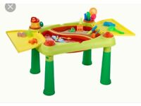 Outdoor play table for water / mud