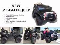 WRANGLER JEEP REMOTE ELECTRIC KIDS RIDE ON CAR