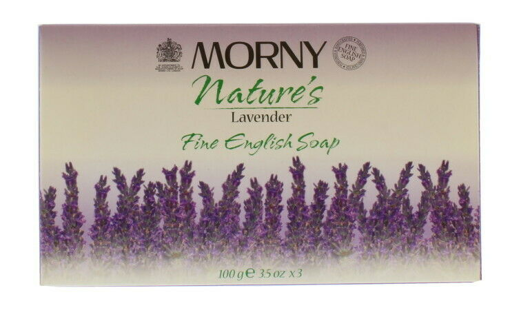 Morny Nature''s Lavender Soap 3 Pieces Set - 3x100g Bars