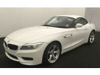 Alpine White BMW Z4 2.0 Petrol 2015 sDrive18i M Sport FROM £72 PER WEEK!