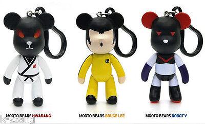 Taekwondo Tae Kwon Do Kungfu Mooto Bears Key Holder Hook Strap Chain Korea