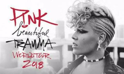 2 x A Reserve Pink concert tickets, Rod Laver Arena, Sun 22 July