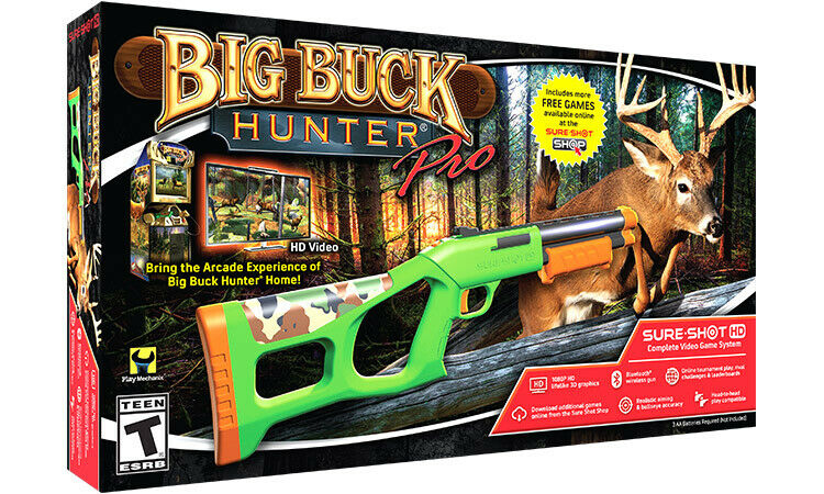 Big Buck Hunter Pro - Sure Shot HD Complete Game System