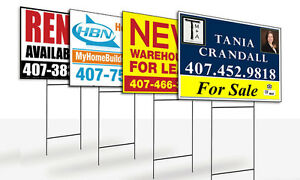 Custom Signs! Great for Indoor Or Outdoor Use!!