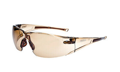 Bolle Rush Safety Glasses With Twilightanti-scratch And Anti-fog Lens 40072