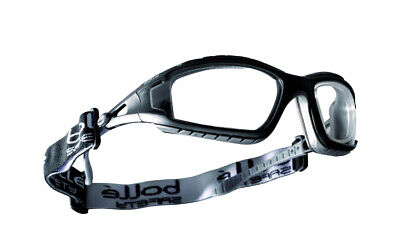 Bolle Tracker Safety Glasses Goggles Clear Anti Fog Lens Ansi Z87 40085