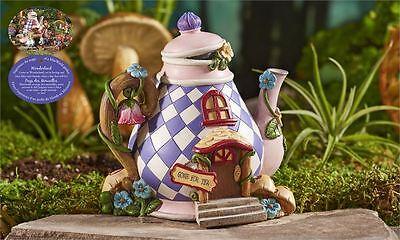 Mini World Teapot Diamond Detail Alice in Wonderland Miniatures New