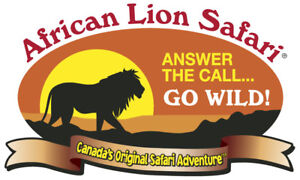 African Lion Safari Any Day Ticket