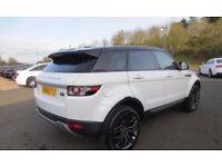 White Land Rover Range Rover Evoque 2.2 SD4 Pure TECH 5dr