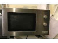 Bosch Stainless Steel microwave.