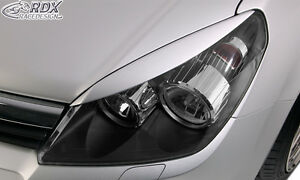 RDX Scheinwerferblenden Opel Astra H & Astra H GTC Böser Blick