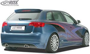 RDX-Heckansatz-AUDI-A3-8PA-Sportback-Heck-Ansatz-Schuerze-Diffusor-Hinten