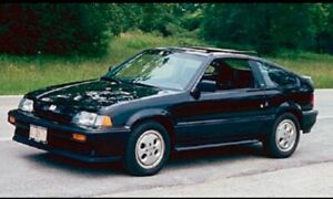 Looking for 1986-1987 Crx si