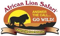 African lion safari adult tickets