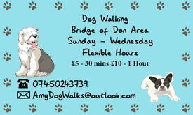 Dog Walking Services - Bridge of Don