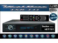 iSatBox TSR-141 FULL HD Freesat PVR Smart TV Satellite Receiver with IPTV function BNIB