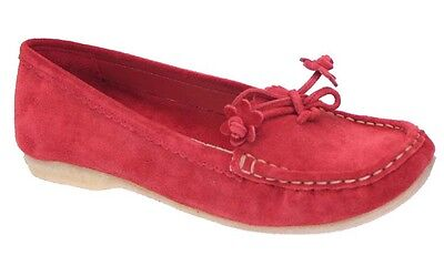 Clarks MOCCASIN SUEDE POPPY Red mod. 807