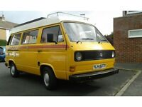 VW T25 Autohomes Kamper Air-cooled