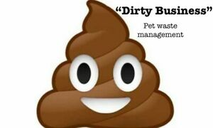 Dirty Business - Dog waste removal