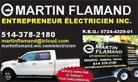 Entrepreneur et Maître Électricien       (514) 378-2180