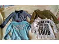 Big clothes bundle boy 12-18 months