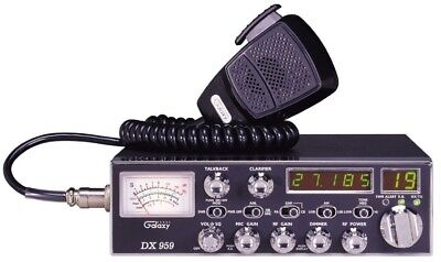 Galaxy DX959B Channel AM & SSB Mobile CB Radio with Blue LED Display for sale  Shipping to Canada