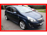 2012 Vauxhall Corsa 1.4 i 16v SRi 5dr --- Manual --- Part Exchange Welcome --- Drives Good