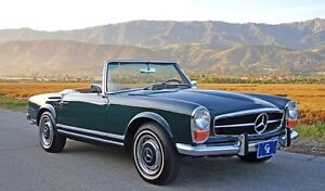 LOOKING FOR MERCEDES W113 Or R107