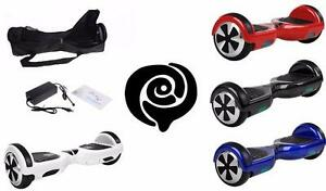 Easy People Two Wheel Bluetooth + Speakers Self Balancing Motorized Scooter hover Board with Bag + UL, FC,