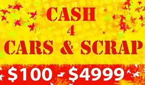 UNWANTED CARS & SCRAP METAL REMOVALS ( CASH PAID ) FREE PICK UP Mount Louisa Townsville City Preview