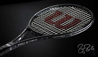 2017 WILSON Pro Staff RF97 AUTOGRAPH Tennis Racket STRUNG grip 4 - ROGER FEDERER