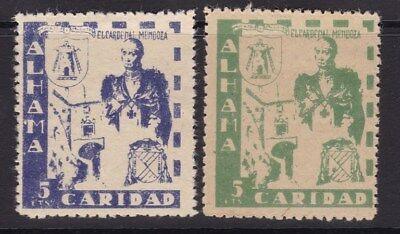 ESPAÑA - GUERRA CIVIL - ALHAMA - CARIDAD - CARDENAL MENDOZA -...